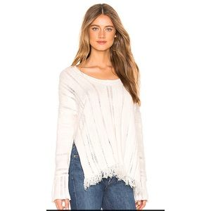 FREE PEOPLE OCEAN DRIVE FRINGE SWEATER 💖IN STORES